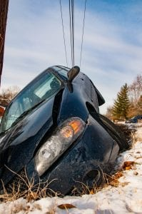 Avoid Injury in winter driving accident